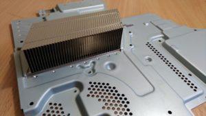 Чистая система охлаждения PS4